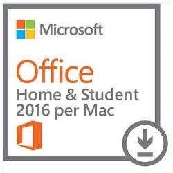 Microsoft Office MAC Home and Student 2016 PKL Online Eurozone DwnLd-ESD