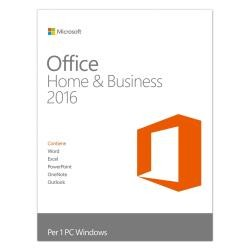 Microsoft Office Home and Business 2016 PKL Online Eurozone DwnLd-ESD